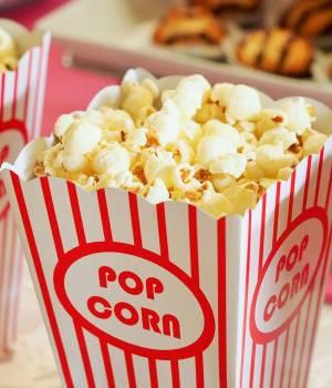 Popcorn, sockervadd, mm